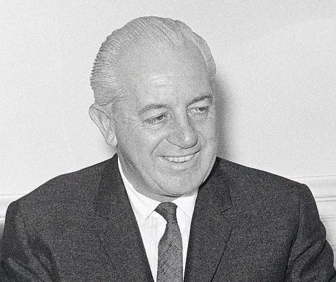 Harold Holt, the 17th Prime Minister of Australia. Photo taken during the 1966 elections.