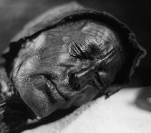 Tollund Man - Found in Denmark and found to be around 2600 years old. Credit: Sven Rosborn