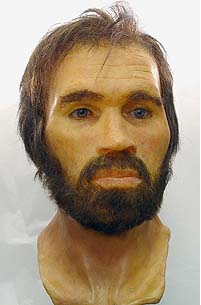 Reconstruction of Lindow Man's face - Credit: www.culture24.org.uk