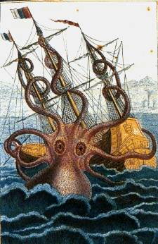 Some think that a giant sea monster took the men