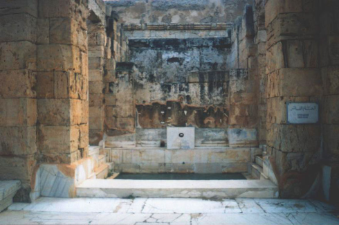 Public baths in Leptis Magna. Credit:(http://commons.wikimedia.org/wiki/User:Man)