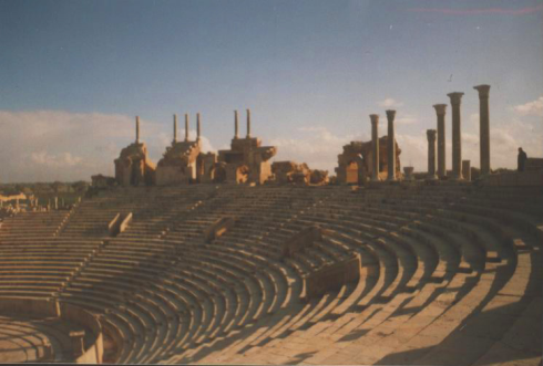 The theatre. Credit:(http://commons.wikimedia.org/wiki/User:Man)